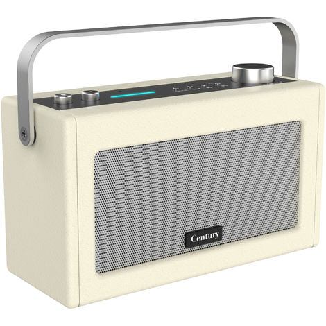 i-box Century Retro Amazon Alexa Speaker - Cream