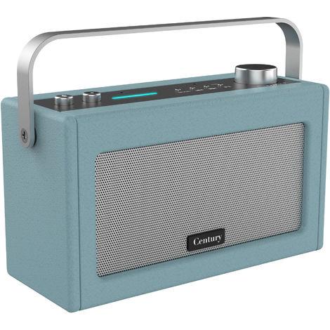 i-box Century Retro Amazon Alexa Speaker - Stone Blue