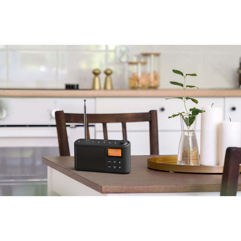 Image of Spectrum DAB/DAB+/FM Portable Radio - Black - I-box