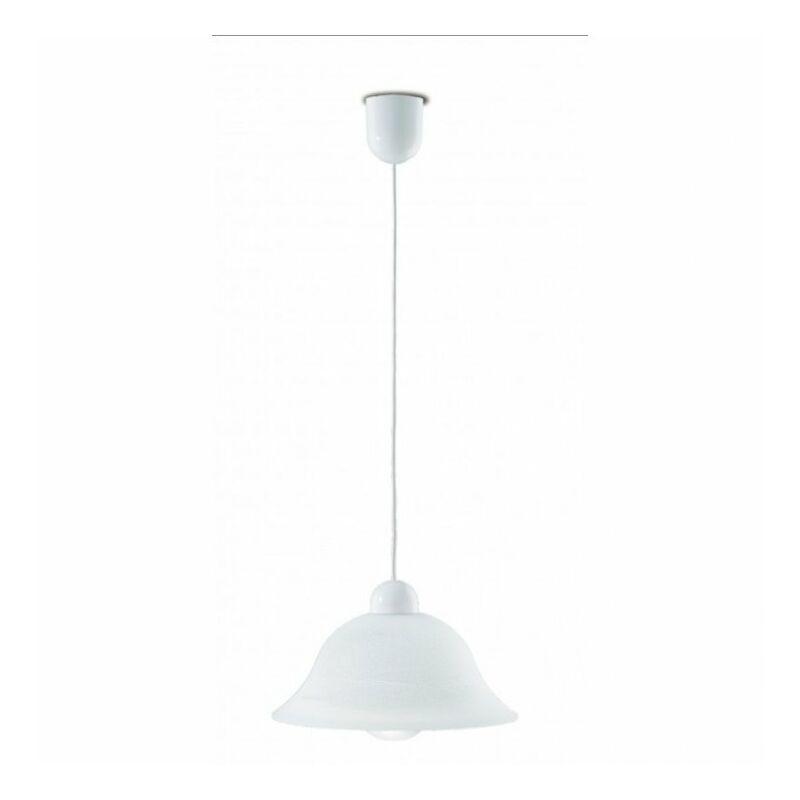 Shop-day - Lampadario con paralume a campana con bordo sfumato 60 watt E27 - 33/06600