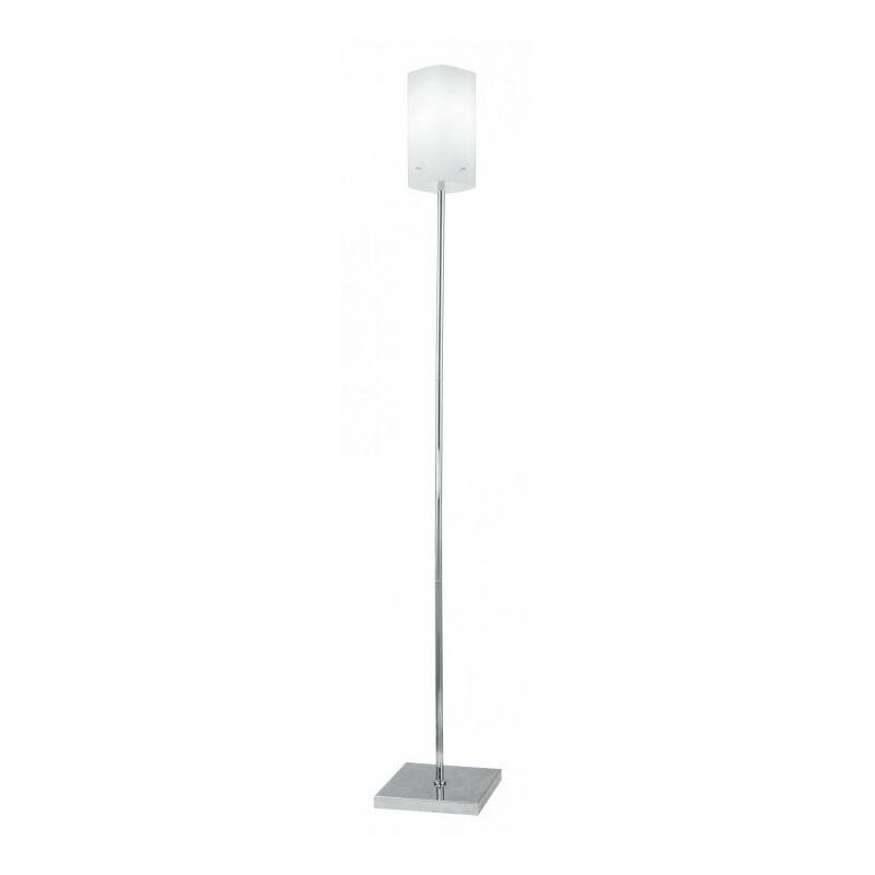 Shop-day - Lampada da terra Piantana dal design moderno e di colore bianco 60 wattt E27