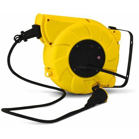 Enrouleur electrique automatique 20m-3g1.5mm