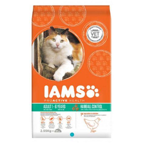 Iams Vitality Hairball Cat Food With Fresh Chicken (800g) (Chicken)