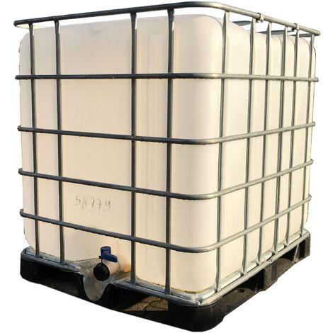 Lieblings IBC Wassertank, 1000 Liter, gebraucht, Kunststoffpalette @KB_55