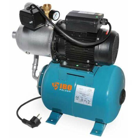 IBO Hauswasserwerk 24l mit HP 1500 INOX Kreiselpumpe mehrstufig selbstsaugend 1500 Watt