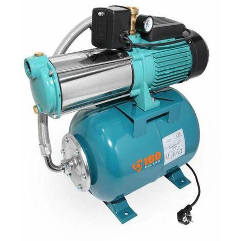 IBO Hauswasserwerk HM 1800 INOX 24l Kreiselpumpe mehrstufig selbstsaugend 1800 Watt bis 8bar