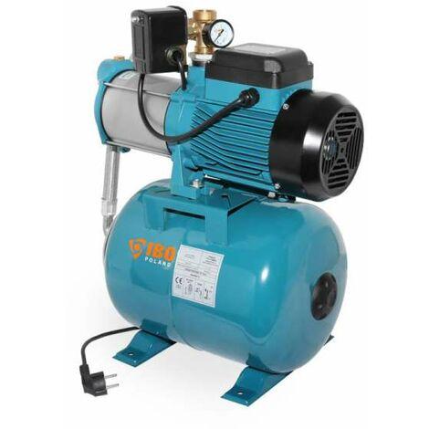 IBO Hauswasserwerk HM 2200 INOX 24l Kreiselpumpe mehrstufig selbstsaugend 2200 Watt bis 10m³/h