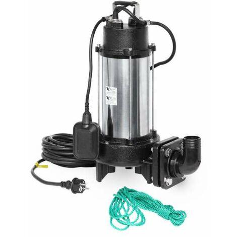 IBO KRAKEN 1800DF (230V) 1,8 KW Schneidradpumpe Schmutzwasserpumpe mit Schneidwerk