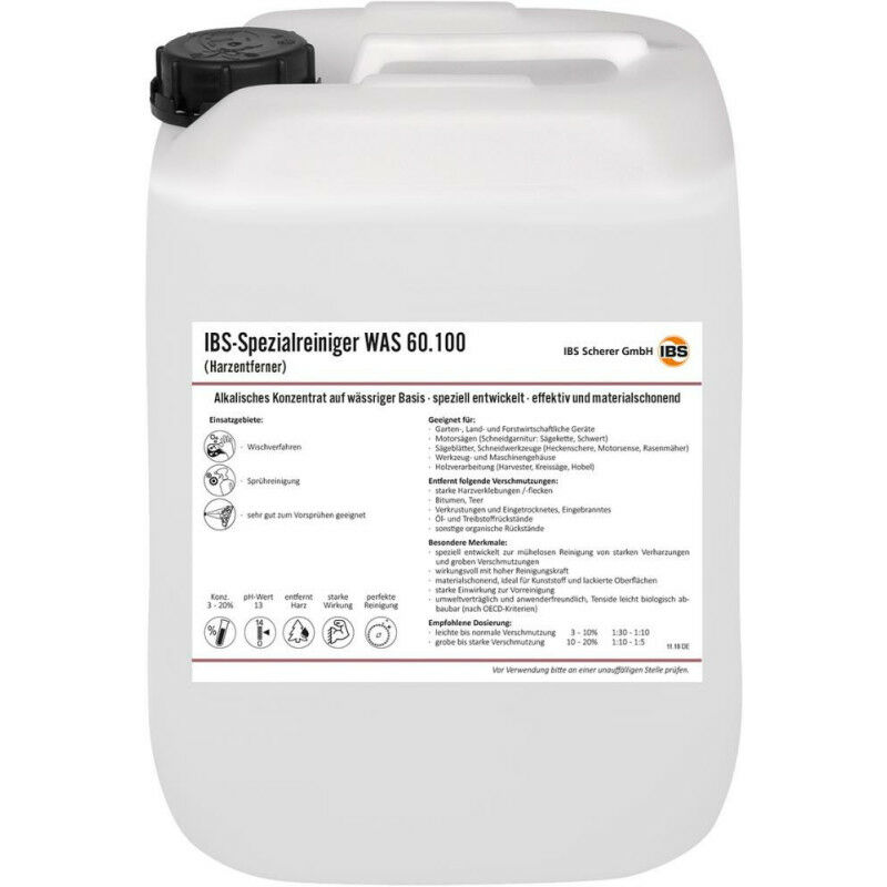 FP - IBS-Nettoyant Special WAS 60.100 10L - Dissolvant de résine