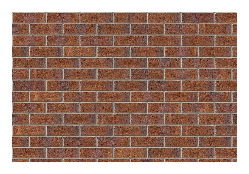 Image of Ibstock Aldridge Facing Brick 65mm New Burntwood Red Rustic (Pack of 316)