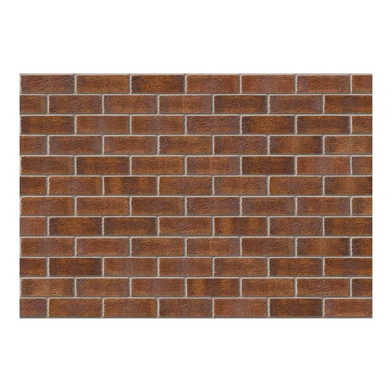 Image of Ibstock Aldridge Facing Brick 73mm New Burntwood Red Rustic (Pack of 292)