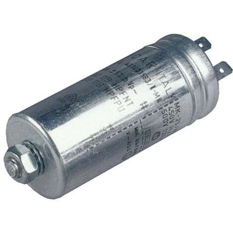 Icar MLR25L401003583 10µF 400VAC Polypropylene Metal Can Motor Run Capacitor