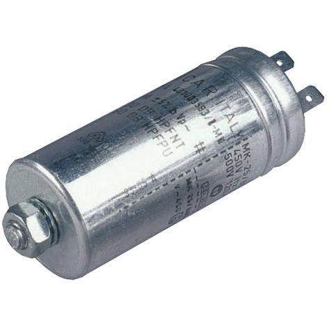 Icar MLR25L40202563 2µF 400VAC Polypropylene Metal Can Motor Run Capacitor