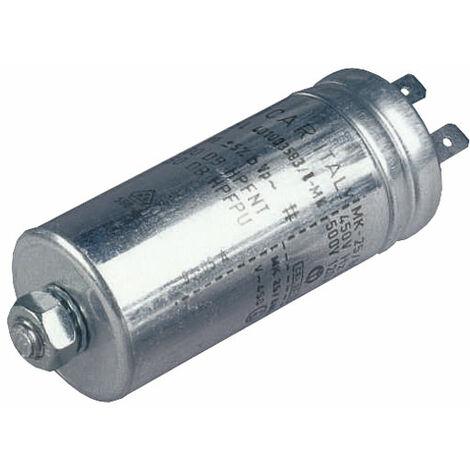 Icar MLR25L40600583 6µF 400VAC Polypropylene Metal Can Motor Run Capacitor