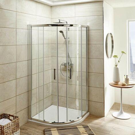 "main image of ""ICE 1000mm Quadrant Shower Enclosure, Tray & Waste"""
