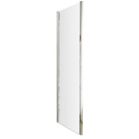 """main image of """"ICE 760mm Chrome Shower Side Panel - size 760mm - color Chrome"""""""