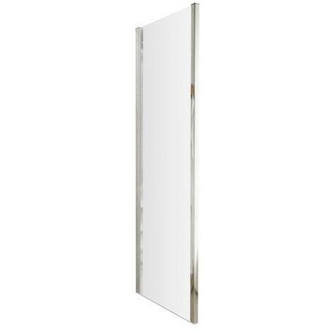 ICE Chrome 1000mm Shower Side Panel