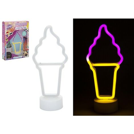 ICE CREAM 2 TONE NEON LIGHT