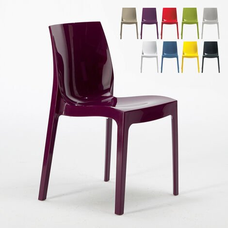 ICE Grand Soleil Stackable Chair for Kitchen and Bar made of Polypropylene