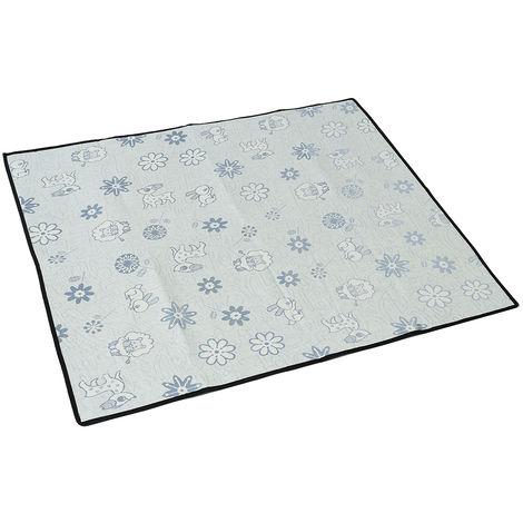 Ice Silk Pet Cooling Mat Cool Blue S 35 x 31 cm