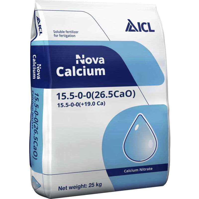 Image of Nova Soluble Calcium Nitrate 15.5-0-0+26.5CaO - 25kg - ICL