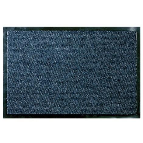 ID MAT - Tapis absorbant Cahors / Florac - 90x150 cm - bleu