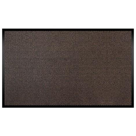ID MAT - Tapis absorbant Cahors / Florac - 90x150 cm - brun