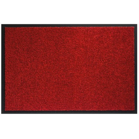 ID MAT - Tapis absorbant Mirande - 60x80 cm - rouge