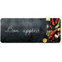 ID MAT - Tapis de cuisine - 50x120 cm - Bon appétit