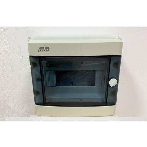 IDE - Coffret étanche IP55 - 8 modules - 55S08 - CD9PT/R
