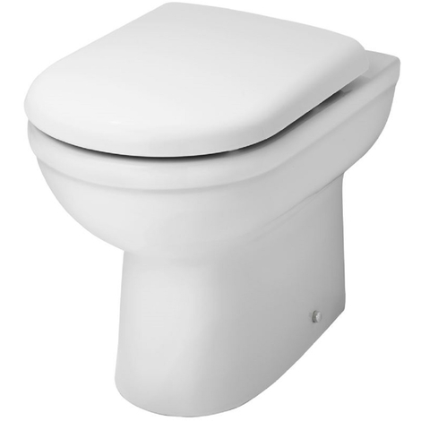 Ideal Comfort Height Back to Wall Toilet With Soft Close Seat