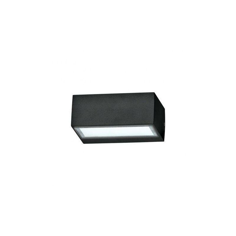 Image of Ideal Lux - 1 Light Outdoor Twin Up Down Wall Light Black IP44, G9