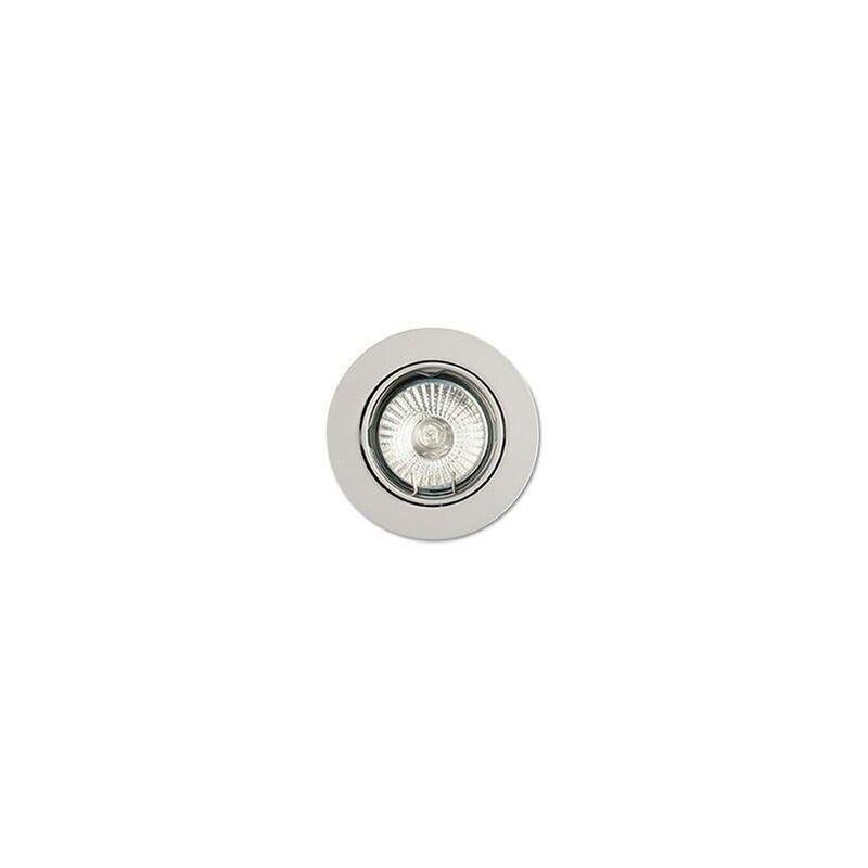 Image of Ideal Lux - 1 Light Tiltable Recessed Spotlight (3 Pack) White, GU10