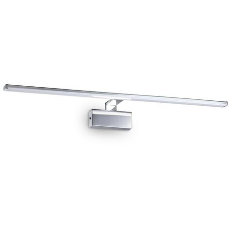 Ideal Lux ALMA - Integrated LED Picture Wall Lamp 1 Light Chrome 3000K