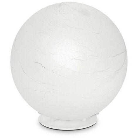 Ideal Lux CARTA - Indoor Globe Table Lamp 1 Light White, E27