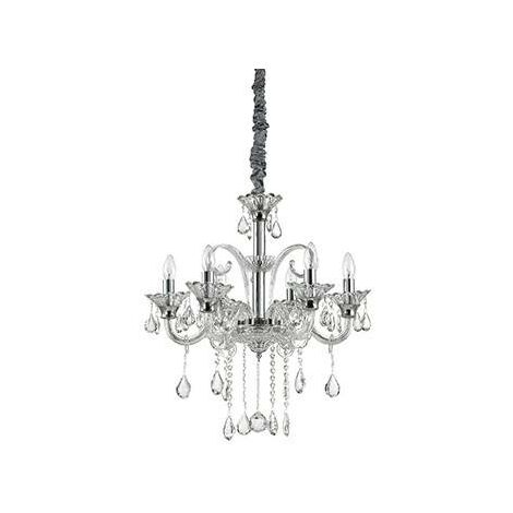 Ideal Lux Colossal - 6 Light Chandelier Clear Glass, E14