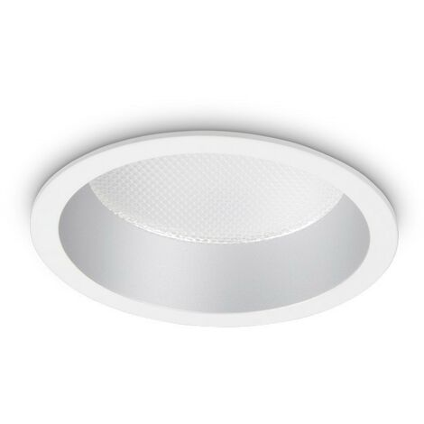 Ideal Lux DEEP - Integrated LED Indoor 10W Recessed Downlight Lamp White 4000K
