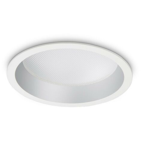 Ideal Lux DEEP - Integrated LED Indoor 20W Recessed Downlight Lamp White 3000K