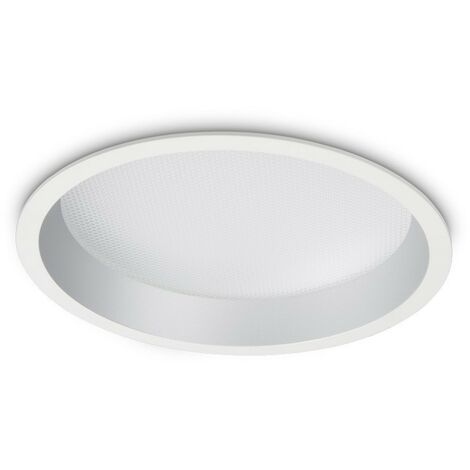 Ideal Lux DEEP - Integrated LED Indoor 30W Recessed Downlight Lamp White 3000K