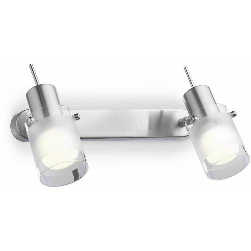 Image of 2-light ELIS chrome wall light