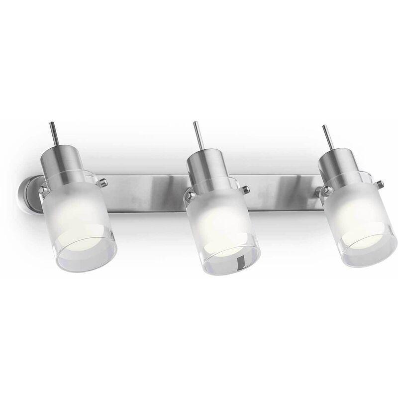 Image of 3-light ELIS chrome wall light
