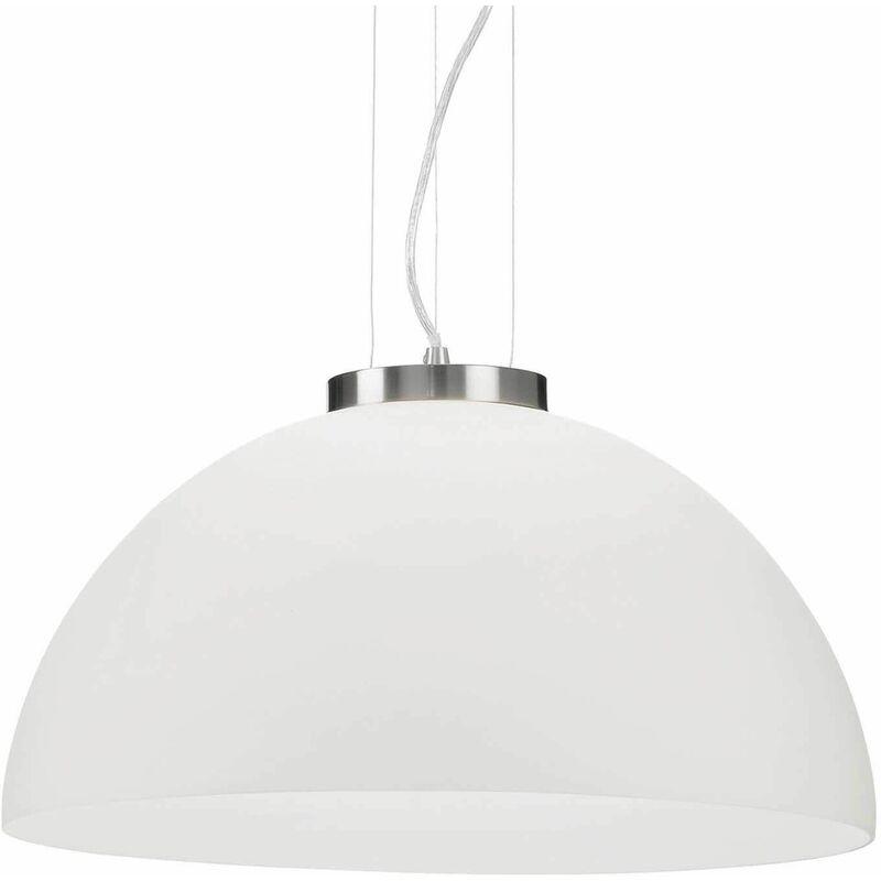 Image of 1-bulb white ETNA pendant lamp