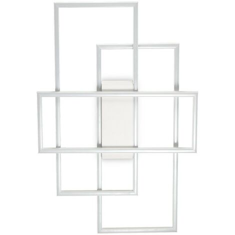 Ideal Lux FRAME-1 - Integrated LED Indoor 3 Lights Ceiling Lamp White 3000K