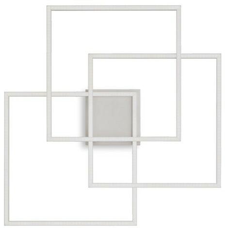 Ideal Lux FRAME-2 - Integrated LED Indoor 3 Lights Ceiling Lamp White 3000K