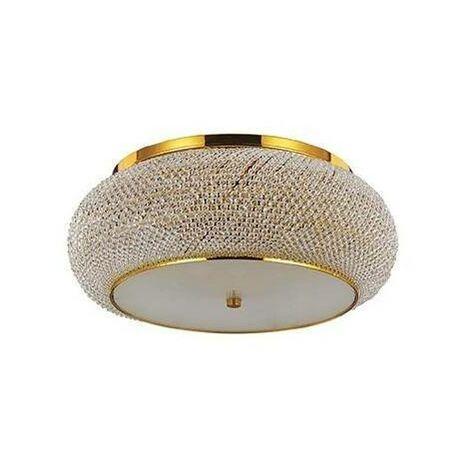 Ideal Lux Pasha' - 14 Light Ceiling Light Gold