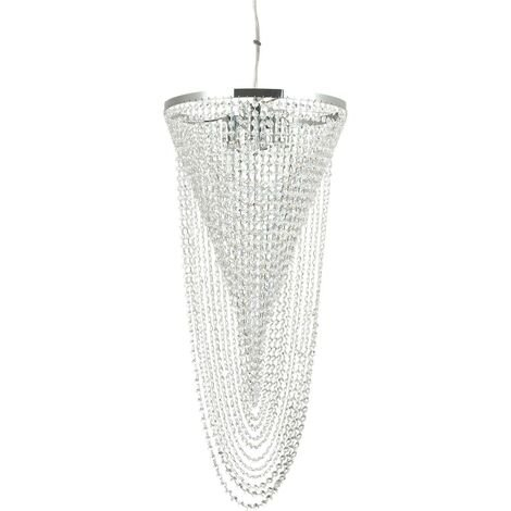 Ideal Lux Pearl - 6 Light Ceiling Pendant Chrome