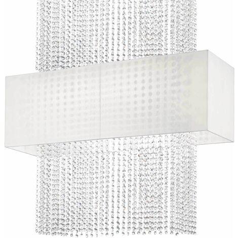 Ideal Lux Phoenix - 5 Light Semi Flush Ceiling Light White, E27