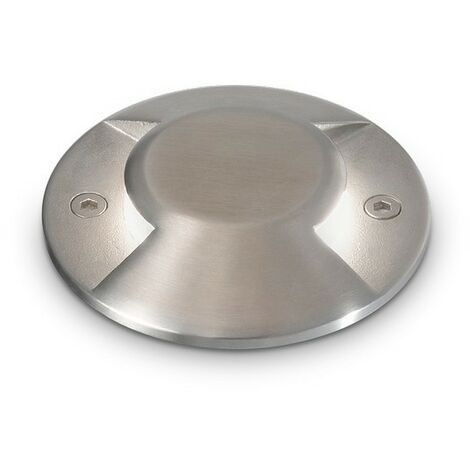 """main image of """"Ideal Lux ROCKET-2 - Integrated LED Outdoor Recessed Ground Downlight Lamp 1 Light 2 Directional Steel 3000K IP65"""""""
