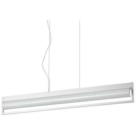 Ideal Lux SUBWAY - Integrated LED Indoor Ceiling Pendant Lamp 24 Lights White 3000K