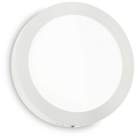Ideal Lux UNIVERSAL - Integrated Simple LED Indoor 1 Light Ceiling Lamp White 3000K